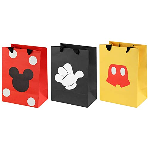 Buy 18 Pcs Mickey Mouse Favor Bags, Mickey Treat Candy Goodie Gift ...