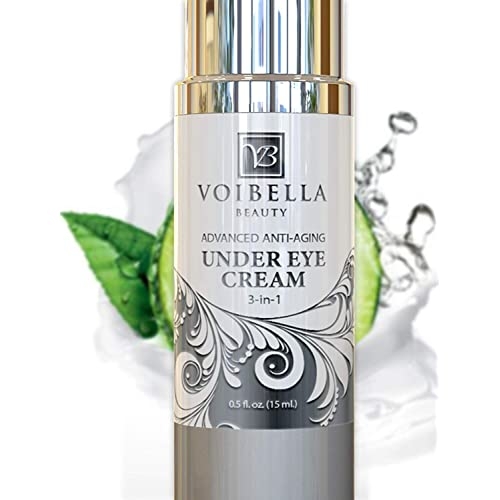 Buy Natural Anti-Aging Under Eye Cream, Best 3-in-1 Treatment For