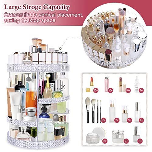 d4a3efefc098 Buy Famitree Rotating Makeup Organizer,Acrylic Clear Perfume ...
