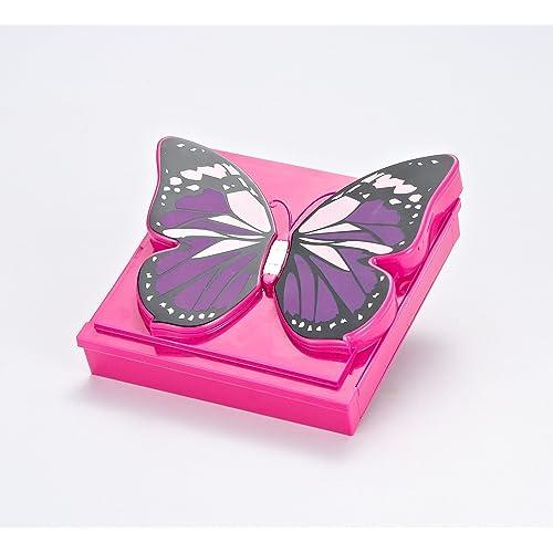 bfe648c5721a Buy JaxoJoy Girly Girl Butterfly Makeup Kit - Girls Makeup Palette ...